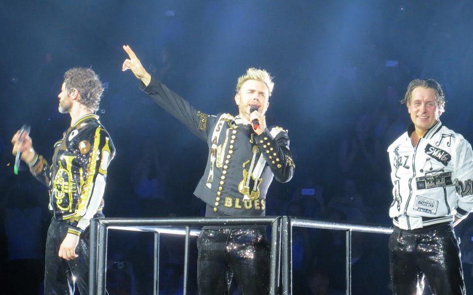Take That in der Manchester Arena am 20. Mai 2017